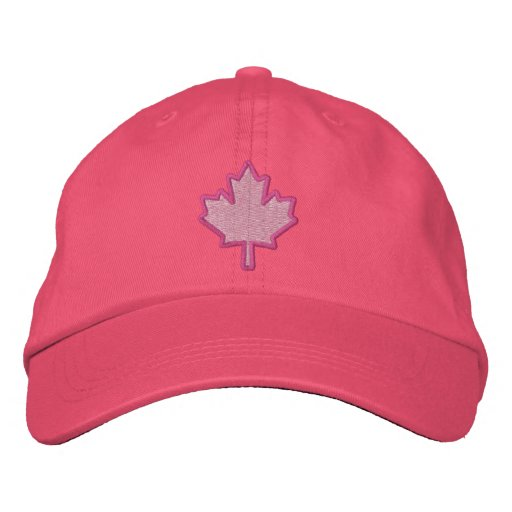 Canadian Embroidery Embroidered Maple Leaf Embroidered Hats