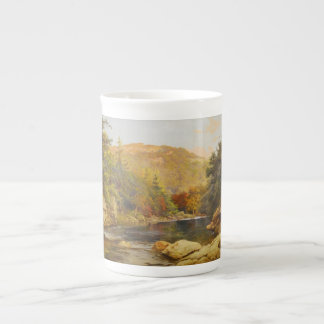 Canadian Fall by Otto Reinhold Jacobi 1870 Tea Cup