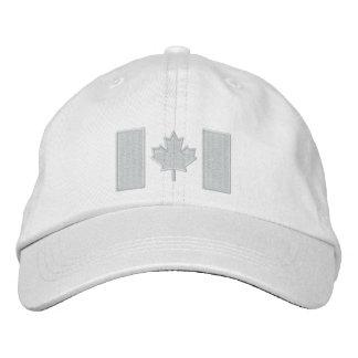 Canadian Flag Embroidery Baseball Cap