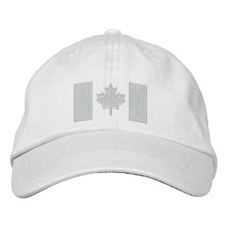 Canadian Flag Embroidery Baseball Cap