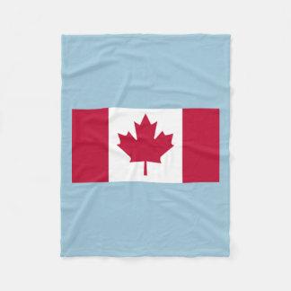 Canadian Flag Fleece Blanket