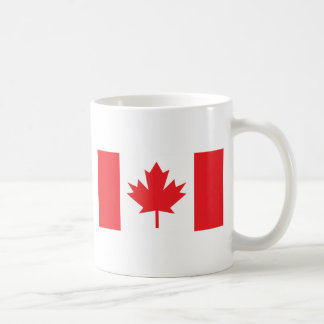 Canadian Flag Basic White Mug