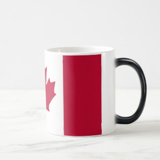 Canadian Flag 11 Oz Magic Heat Color-Changing Coffee Mug