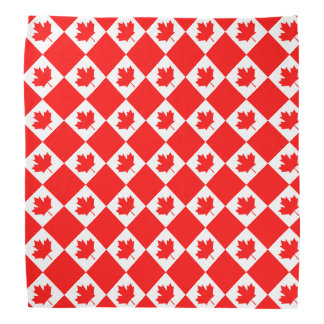 Canadian flag of Canada red bandana