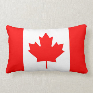 Canadian Flag of Canada Red Maple Leaf Pillow