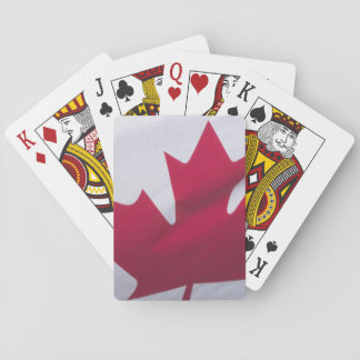 Canadian Flag. Playing Cards