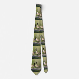 Canadian Geese Tie