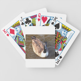 Canadian Goose Bicycle Playing Cards
