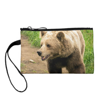Canadian Grizzly Coin Purse