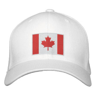 Canadian Hockey Team Embroidered Hat