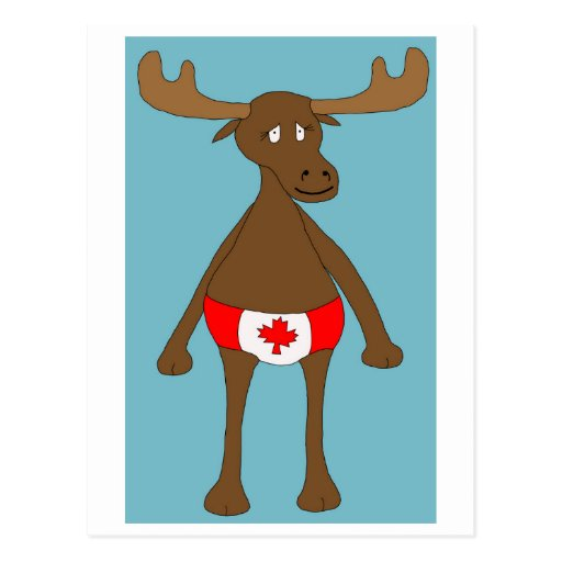 Canadian Moose Post Cards