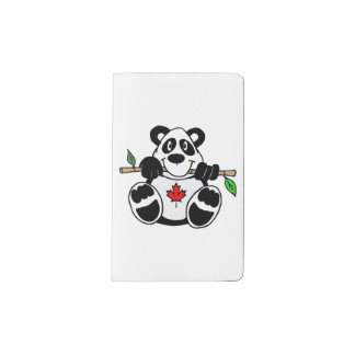 Canadian Panda Notebook Cover