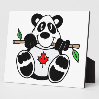 Canadian Panda Plaque