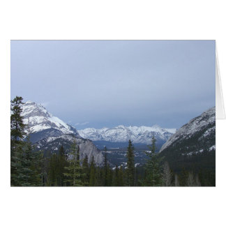 Canadian Rocky Mountains 1 Insperational Card