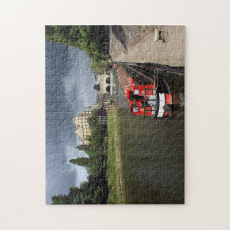 Canal Boat, River Avon Jigsaw Puzzle