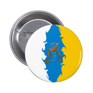 Canary Islands Gnarly Flag Pin