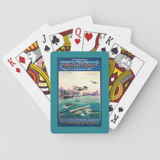 Cancelled Float Plane Promotional Poster Playing Cards