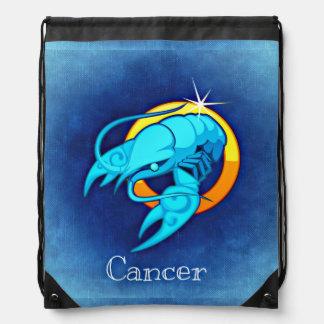 cancer astrology drawstring bag