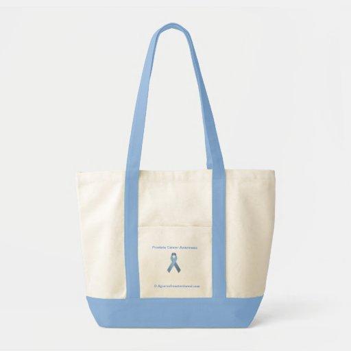 Cancer Awareness Canvas Bag