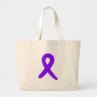 Cancer awareness jumbo tote bag