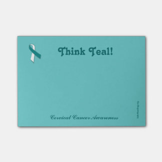 Cancer Awareness Post-it - Cervical Cancer Post-it Notes