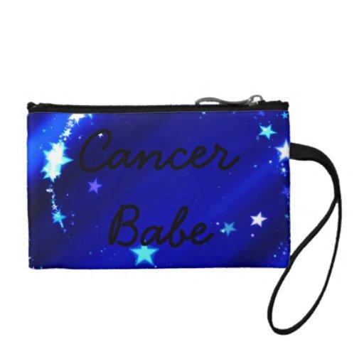 Cancer Babe Bagettes Bag Coin Wallets