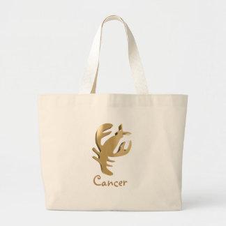 Cancer, cancro jumbo tote bag