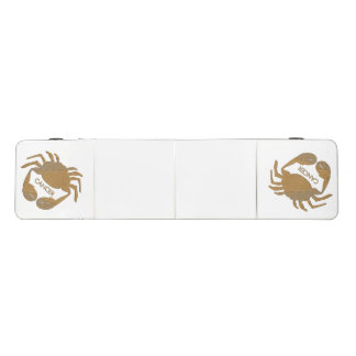 Cancer Crab Zodiac Pong Table