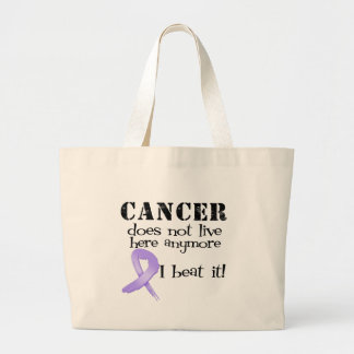 Cancer Does Not Live Here Anymore Tote Bags