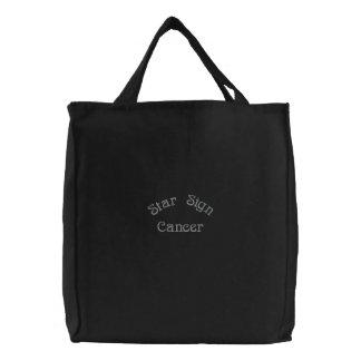 CANCER EMBROIDERED BAG