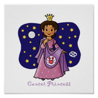 Cancer Princess Posters