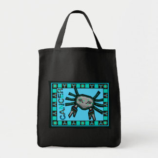 Cancer Quilt Grocery Tote Bag