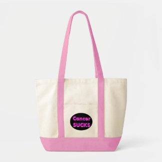 'cancer sucks' bag