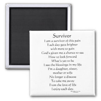 Cancer Survivor Magnet