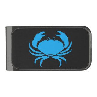 Cancer the Crab Zodiac Gunmetal Finish Money Clip