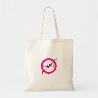 Cancer Tote Budget Tote Bag