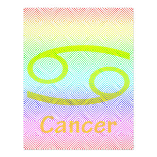 cancer yellow, spectral romb flyers