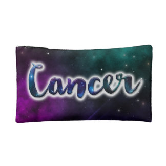 Cancer Zippered Pouch - Small Makeup Bag