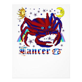 Cancer-Zodiac-V-1 21.5 Cm X 28 Cm Flyer