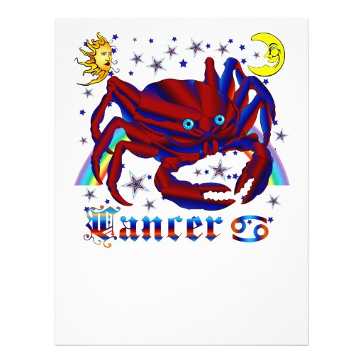 Cancer-Zodiac-V-1 Flyers