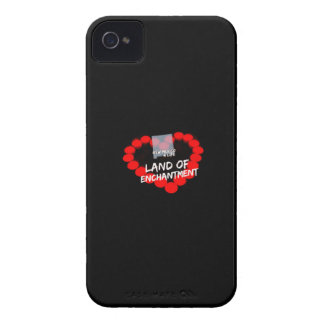 Candle Heart Design For The State of New Mexico iPhone 4 Case-Mate Cases