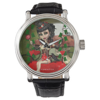 Candy Apple Love Gothic Lolita Art Watch