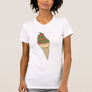 Candy Cane Cone Women's Tee