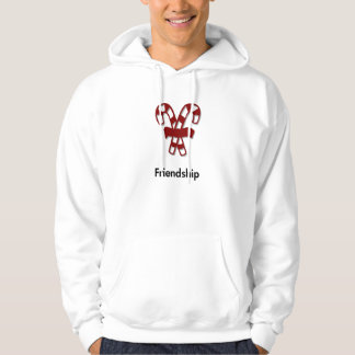 Candy Cane Friendship Hooded Pullovers