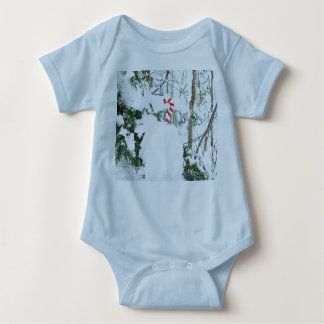 Candy Cane Outdoor Decoration Baby Bodysuit