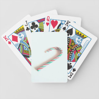 candy cane poker deck