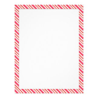 Candy Cane Stationary 21.5 Cm X 28 Cm Flyer