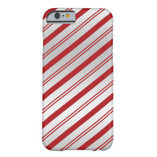 Candy Cane Stripes Barely There iPhone 6 Case