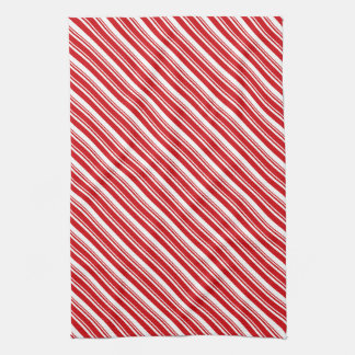 Candy Cane Stripes Hand Towel