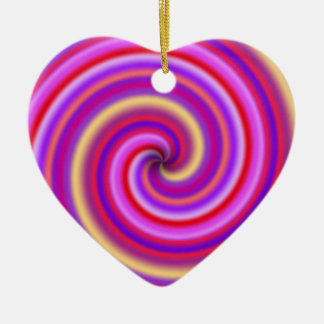 Candy Cane Swirl Ornament